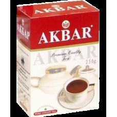 Чай Акбар Красно-белый крупный лист 250гр картон