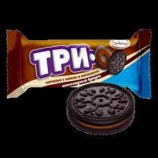 """Печенье """"Трио"""" какао с начинкой шок брауни 45г*9 шт"""