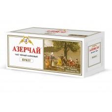 Чай Азерчай букет черный 25 пак*2г (с ярлыком,в конверте)