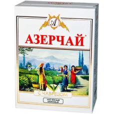 Чай Азерчай чабрец черный крупнолистовой 100г