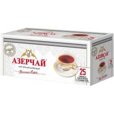 Чай Азерчай Премиум Эрл Грей букет черный байховый 25 пак*1,6г (с ярлыком,в конверте)