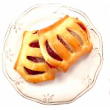 """Изделие сдобное """"Штруделек с брусникой и яблоком"""" 2кг"""