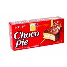 Пирожное Lotte Choco Pie 168 г (6 штук в упаковке)