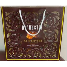 Конфеты Ассорти с орехами классик сумка 210г узоры