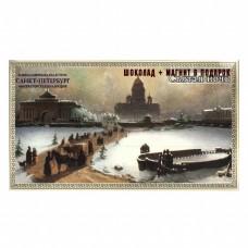 """Шоколад """"Санкт-Петербург Святая ночь"""" 100гр + магнит"""