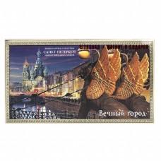 """Шоколад """"Санкт-Петербург Вечный город"""" 100гр + магнит"""