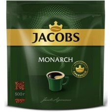 Кофе Якобс Монарх 500гр пакет