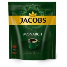 Кофе Якобс Монарх 75гр пакет