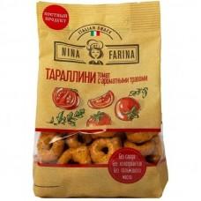 Тараллини Нина Фарина с томатом и ароматными травами 180гр (24шт)