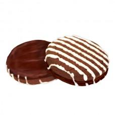 """Печенье """"Шоколадно-топленое"""" глазированное  вес 3,5 кг"""