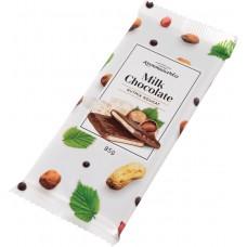 Шоколад молочный с ореховой нугой 85гр