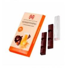 """Шоколад """"Коммунарка"""" горький с апельсиновым соком 200г"""