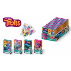 """Конфеты сладкие палочки (с тату) """"TROLLS"""" 25гр*24шт (ут23604)"""