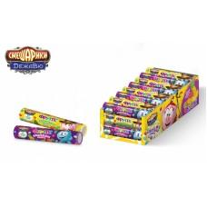 СМЕШАРИКИ ДЕЖАВЮ Жевательные конфеты Фрутлс в тубах 25гр*30шт (ут23849)