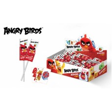 ANGRY BIRDS MOVIE Жевательная конфета на палочке 10,8гр*50шт (ут19955)