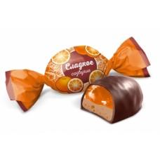 """Конфеты """"Сладкое созвучие"""" вкус апельсин с шоколадом 1кг"""