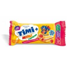 """Пирожное бисквитное """"Тими"""" малина-сливки 33гр*20"""