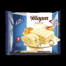 Бисквитный торт «КОНТИ» молочно-медовый 350гр
