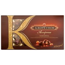"Конфеты Коркунов ""Ассорти"" темный шоколад 192гр"