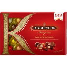 """Конфеты Коркунов """"Ассорти"""" темный и молочный шоколад 256гр"""