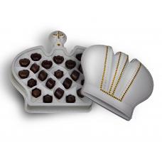 "Набор конфет ассорти ""Корона"" 325 гр белая"