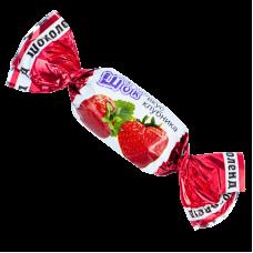 """Карамель """"ФрутоШок"""" вкус клубника вес 1кг"""
