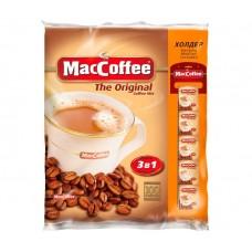 Кофе порционный Maccoffee 3в1  20гр (100 шт /упак в лентах) растворимый