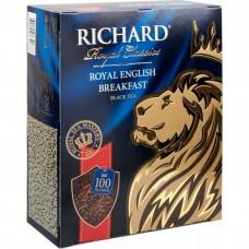 """Чай """"Ричард"""" Инглиш Брекфаст 100пак*2г в конверте"""