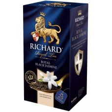 "Чай ""Ричард"" Блэк Жасмин 25пак*2г в конверте"