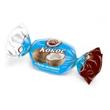 """Конфеты """"Кокос в бело-темной шоколадной глазури"""" 3кг"""