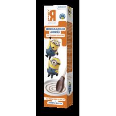Ложка  Миньон молочный шоколад 25гр*24