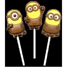 Шоколад фиг на палочке с печеньем Миньон 24гр*24