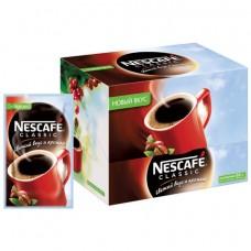 Кофе порционный растворимый Nescafe Классик 30 пакетиков по 2 г