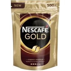 Кофе  Nescafe Голд 500гр пакет
