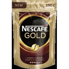 Кофе  Nescafe Голд 150гр пакет