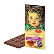 "Шоколад ""Аленка"" 100 гр фундук/изюм"