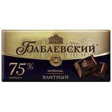 """Шоколад """"Бабаевский"""" 200г элитный 75%"""