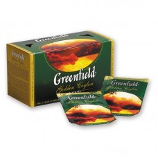 Чай Гринфилд Голден Цейлон черный 25 пак*2гр с/я в конв  (10 шт в кор)