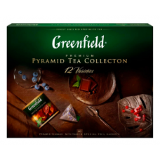 Чай Гринфилд Ассорти Подарочный набор 60 пирамидок 110гр