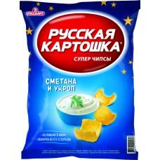 """Чипсы """"Русская картошка"""" со вкусом сметаны и укропа 50гр"""