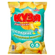 "Палочки кукурузные ""Кузя Лакомкин"" с сахарной пудрой 85гр"