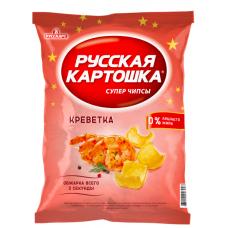 """Чипсы """"Русская картошка"""" со вкусом креветки 50гр"""
