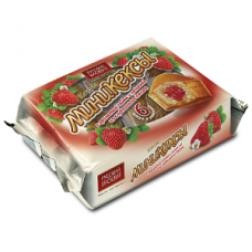 Мини-кексы Бисквитки 200г клубника