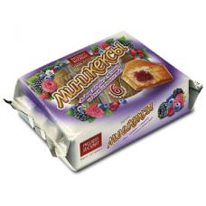 Мини-кексы Бисквитки 200г ягодное ассорти