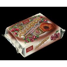 Мини-кексы Бисквитки 200г какао-вишня
