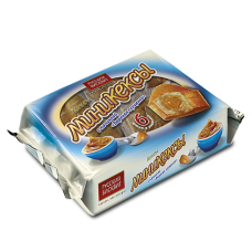 Мини-кексы Бисквитки 200г вареная  сгущенка