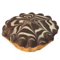 Пирожное «В форме корзиночки с  черникой» вес 1.5 кг
