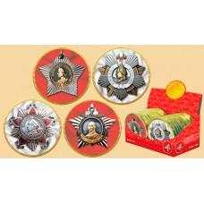 """Медаль """"Поздравляю"""" (ордена) 25г*24"""
