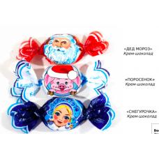 "Конфеты ""Крем-шоколад"" МИКС НГ бабочки 1.5 кг"