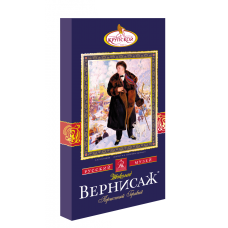 """Шоколад Крупская """"Вернисаж"""" горький пористый 150гр (9шт)"""